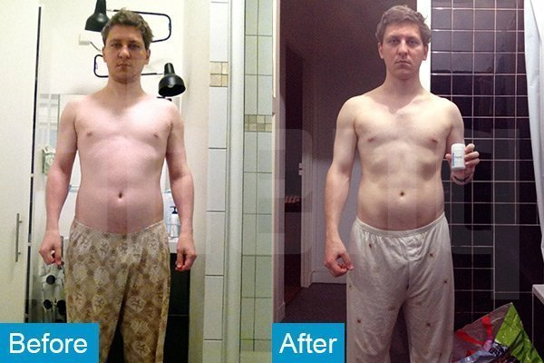 PhenQ weight loss results.