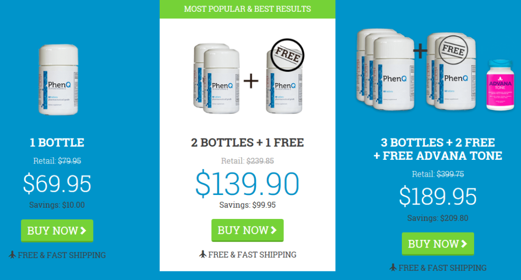 PhenQ weight loss pills current offers