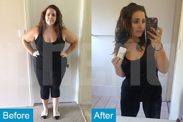 PhenQ weight loss pills before and after