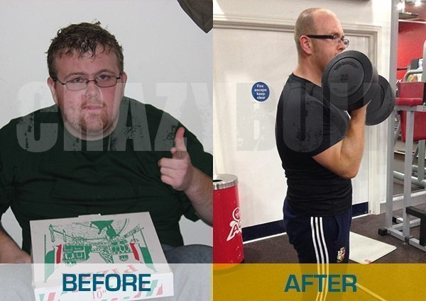 Before and after results from using alternative steroids to assist with weight loss and muscle gain.