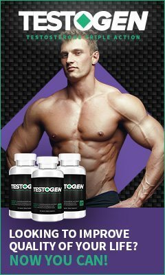 Testogen helps to boost your testosterone levels in order to build muscle.