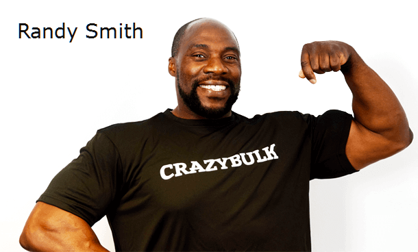 Randy Smith - Leading bodybuilder gives endorsement to Crazy Bulks anabolic supplements