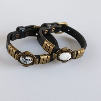Couples Bracelets in Leather